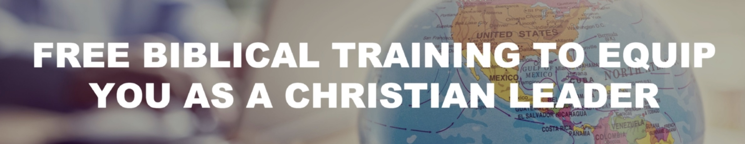 Free Biblical Training banner